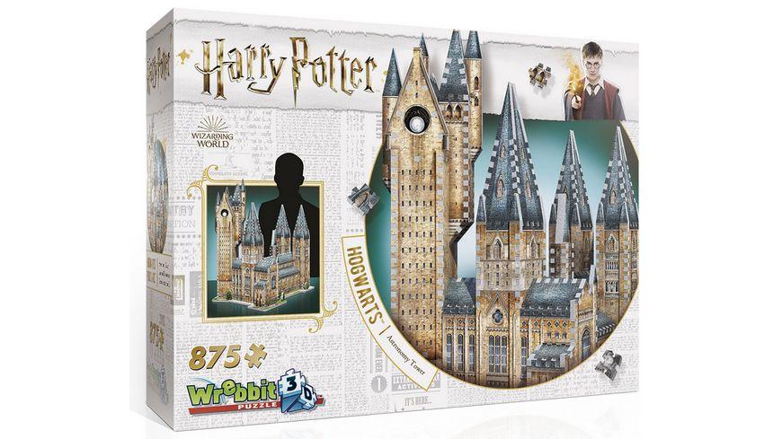 Wrebbit 3D Puzzle Harry Potter 3D Puzzle Hogwarts Astronomieturm 875 Teile