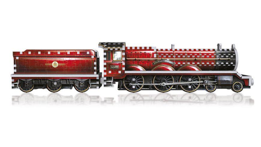 Wrebbit 3D Puzzle Harry Potter 3D Puzzle Hogwarts Express Zug 460 Teile