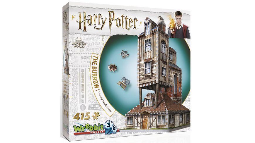 Wrebbit 3D Puzzle Harry Potter 3D Puzzle Fuchsbau 415 Teile