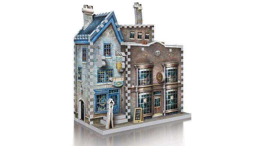 Wrebbit 3D Puzzle Harry Potter 3D Puzzle Ollivander s Zauberstab und Schreibwarenladen 295 Teile