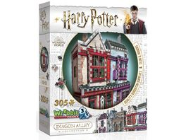 Wrebbit 3D Puzzle Harry Potter 3D Puzzle Qualitaets Quidditch Shop Apotheke 305 Teile