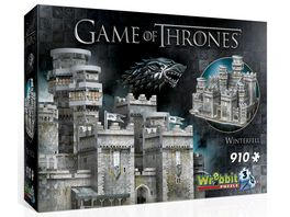 Wrebbit 3D Puzzle Game of Thrones 3D Puzzle Winterfell 910 Teile