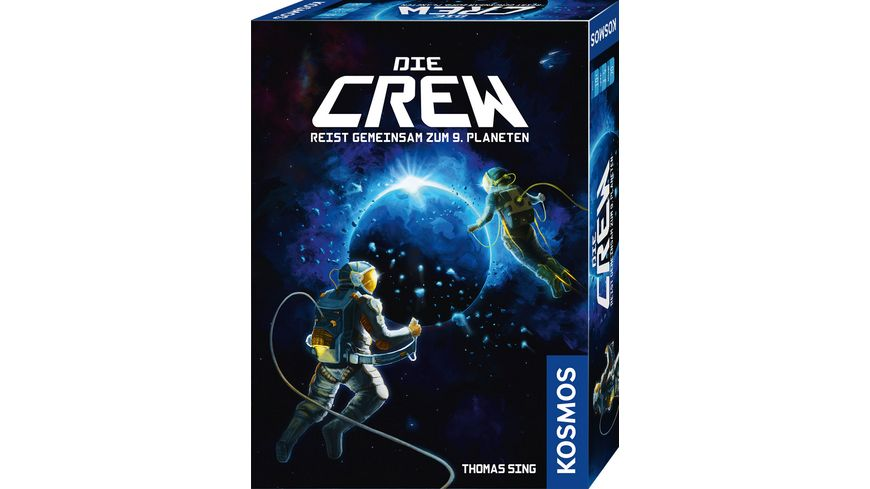 KOSMOS Die Crew Reist gemeinsam zum 9 Planeten