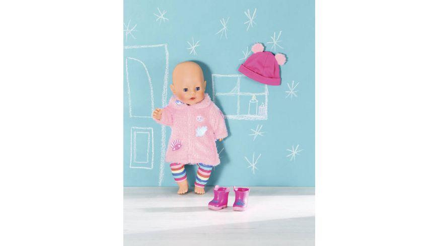Zapf Creation BABY born Trend Glitzer Mantel 43 cm