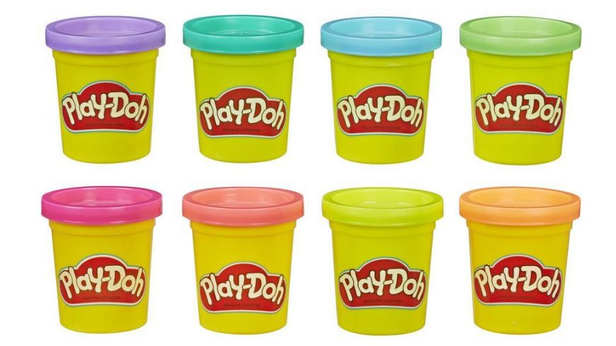 Hasbro Play Doh 8er Pack 1 Stueck sortiert
