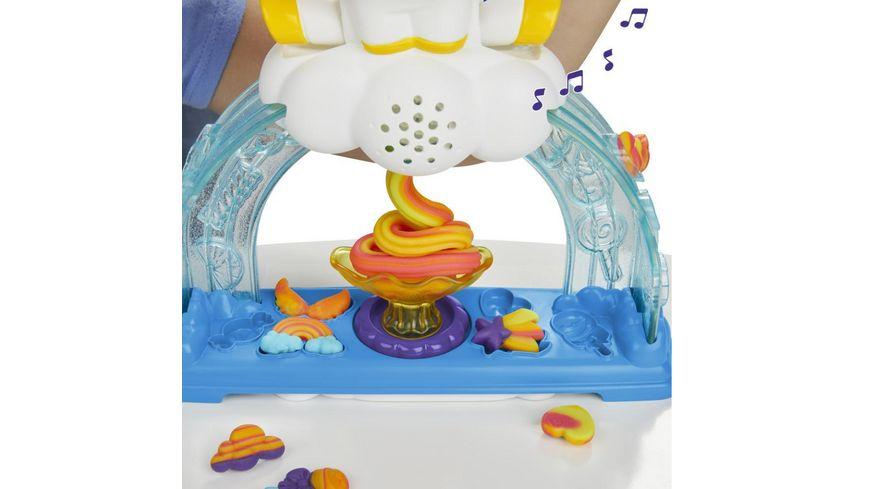 Hasbro Play Doh Buntes Einhorn Softeis Set mit 3 Dosen Play Doh