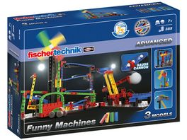fischertechnik ADVANCED Funny Machines Kettenreaktion Witzige Kettenreaktionen fuer junge Konstrukteure