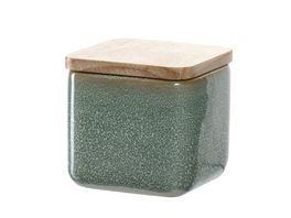 LEONARDO Keramikdosen mit Holzdeckel 8 cm