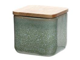 LEONARDO Keramikdosen mit Holzdeckel 10 cm