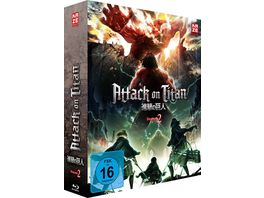 Attack on Titan 2 Staffel BR 1 mit Sammelschuber Limited Edition