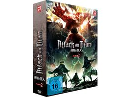 Attack on Titan 2 Staffel DVD 1 mit Sammelschuber Limited Edition