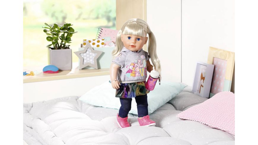 Zapf Creation BABY born Soft Touch Sister blond 43cm