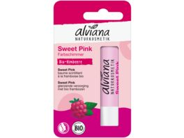 alviana Lippenpflegestift Sweet Pink