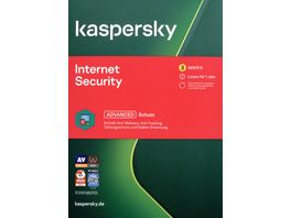 Kaspersky Internet Security 3 Geraete CIAB
