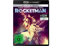 Rocketman 4K Ultra HD Blu ray 2D