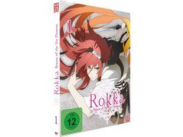 Rokka Braves of the Six Flowers DVD 1