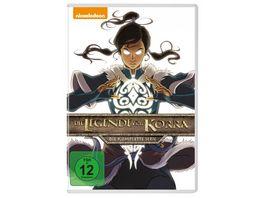 Die Legende von Korra Komplettbox 8 DVDs