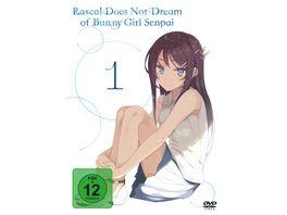Rascal does not dream of Bunny Girl Senpai DVD 1 Episode 01 06 2 DVDs