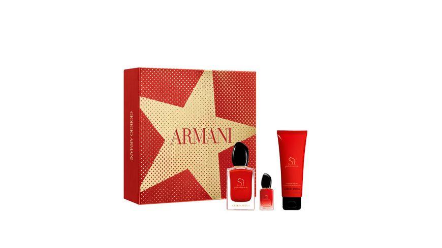 GIORGIO ARMANI Si Passione Eau de Parfum Geschenkset
