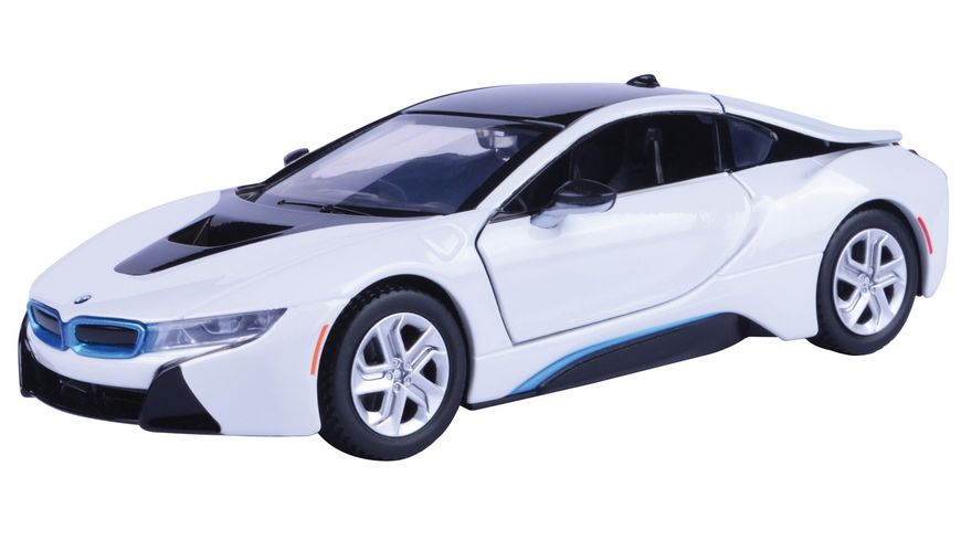 Motor Max BMW I8 Coupe 1 24 weiss