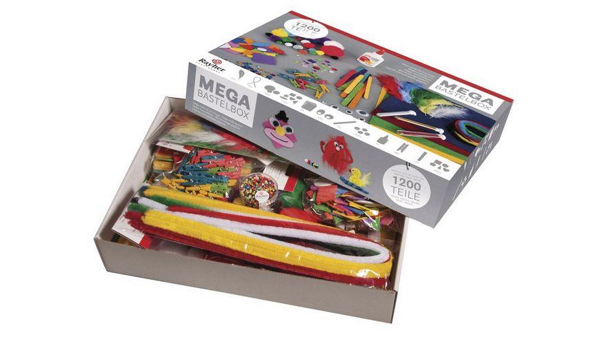Rayher Mega Bastelbox 1 200 Teile