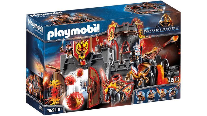 PLAYMOBIL 70221 - Novelmore - Festung der Burnham Raiders