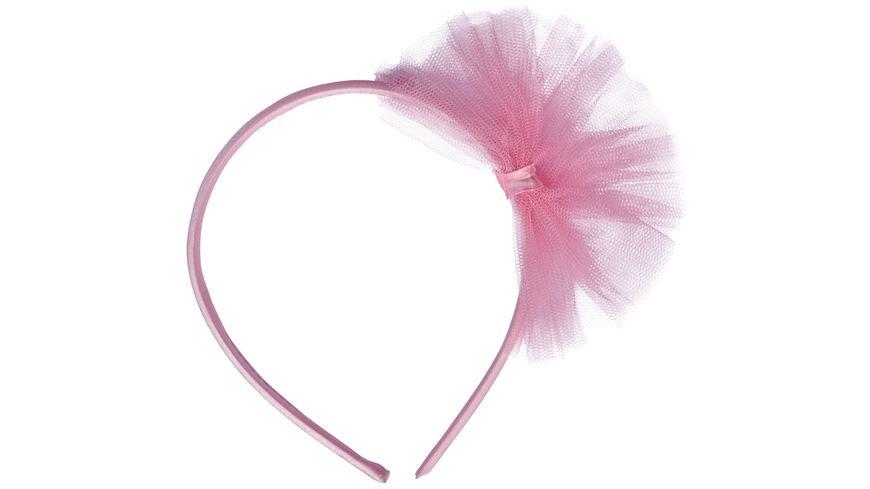 Amscan 4 Haarreifen Little Dancer Kunststoff Stoff 11 2 x 13 7 cm