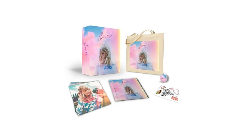 LOVER LIMITED DELUXE CD BOXSET
