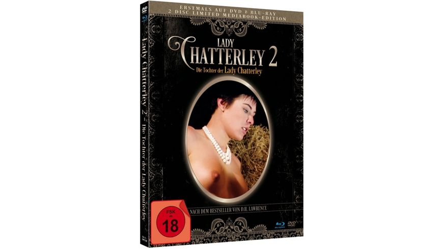 Lady Chatterly 2 Die Tochter der Lady Chatterly Limited Mediabook Edition Blu ray DVD plus Booklet HD neu abgetastet