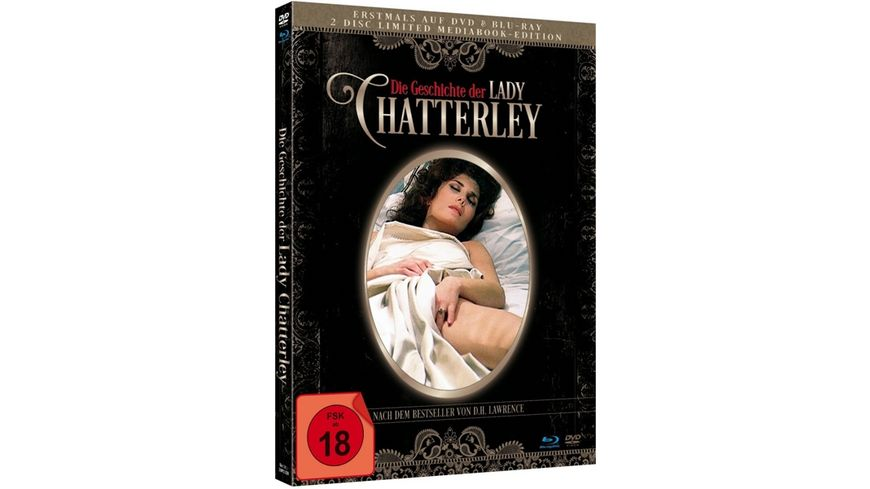 Die Geschichte der Lady Chatterly Limited Mediabook Edition Blu ray DVD plus Booklet HD neu abgetastet