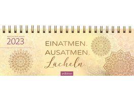 Tischkalender 2021 Einatmen Ausatmen Laecheln