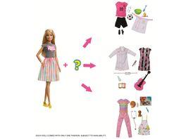 Mattel Barbie Ueberraschungs Karrieren Puppe blond