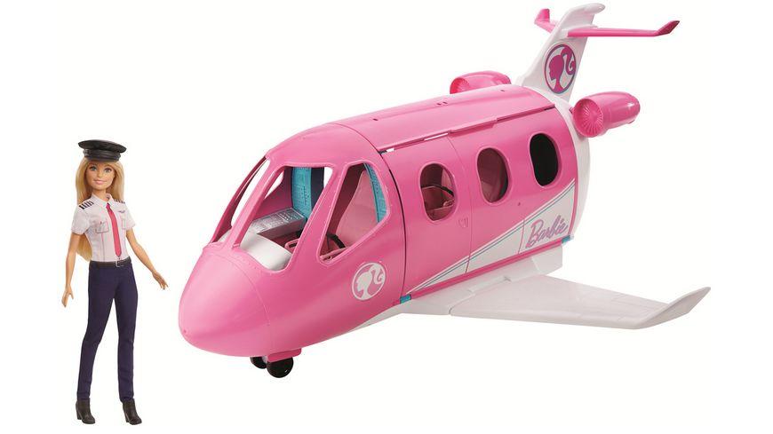 Mattel Barbie Reise Traumflugzeug mit Puppe