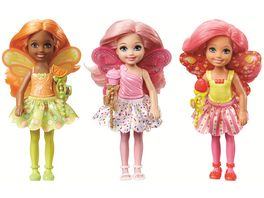 Mattel Barbie Dreamtopia Bonbon Koenigreich Chelsea Feen 1 Stueck sortiert