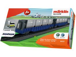 Maerklin 44117 Maerklin my world Wagen Set Airport Jettainer