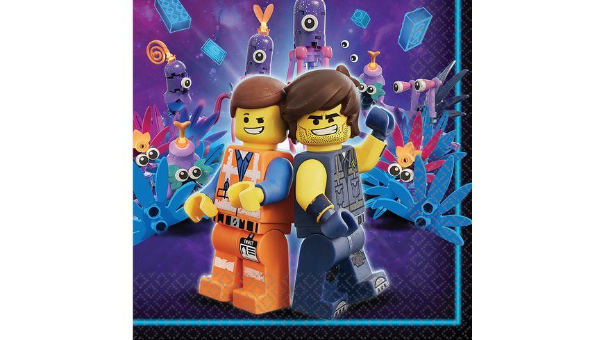 Amscan 16 Servietten Lego Movie 2 33 x 33 cm