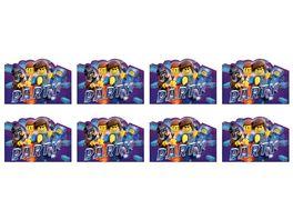 Amscan 8 Einladungskarten Lego Movie 2 Papier 10 7 x 15 8 cm