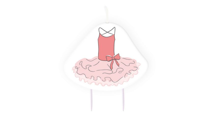 Amscan Geburtstagskerze Little Dancer 9 cm