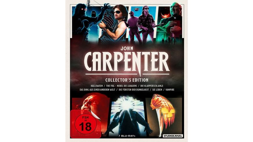 John Carpenter Collector s Edition 7 BRs