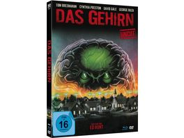 Das Gehirn The Brain Uncut limited Mediabook Edition Blu ray DVD plus Booklet HD neu abgetastet