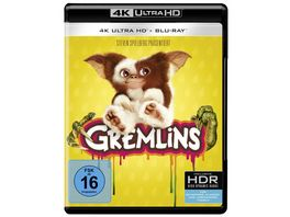 Gremlins 1 Kleine Monster 4K Ultra HD Blu ray 2D