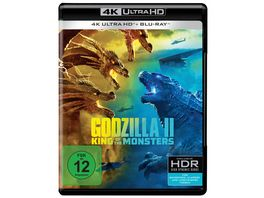 Godzilla II King of the Monsters 4K Ultra HD Blu ray 2D