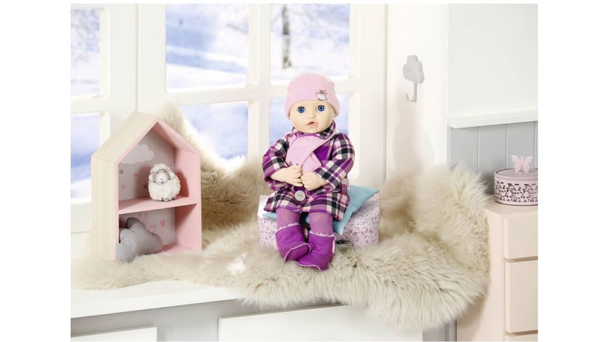 Zapf Creation Baby Annabell Deluxe Mantelset 43cm