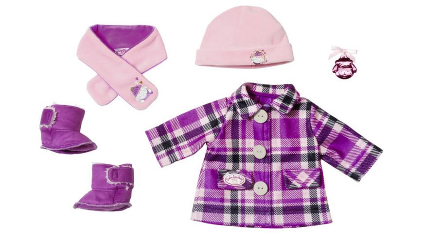 Zapf Creation - Baby Annabell Deluxe Mantelset 43cm online ...