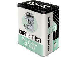 Nostalgic Art Vorratsdose Coffee first