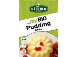 Nicol Gaertner my Bio Pudding Vanille