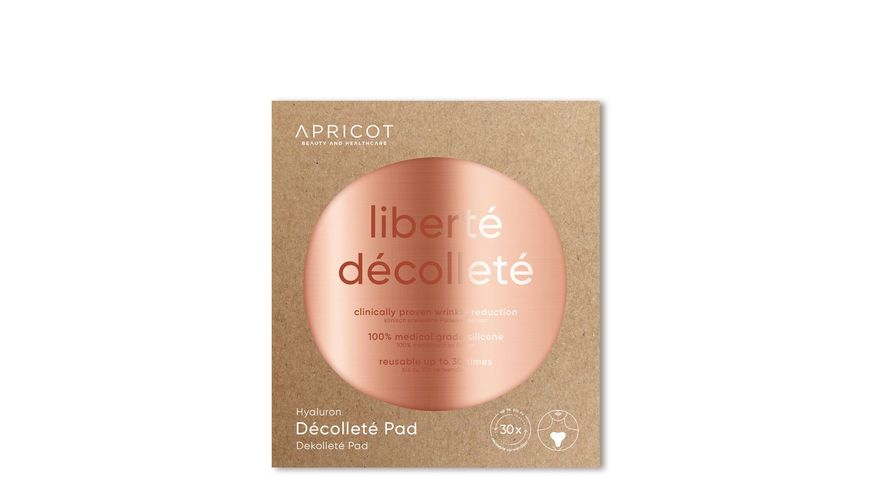 APRICOT BEAUTY AND HEALTHCARE Hyaluron Dekollete Pad