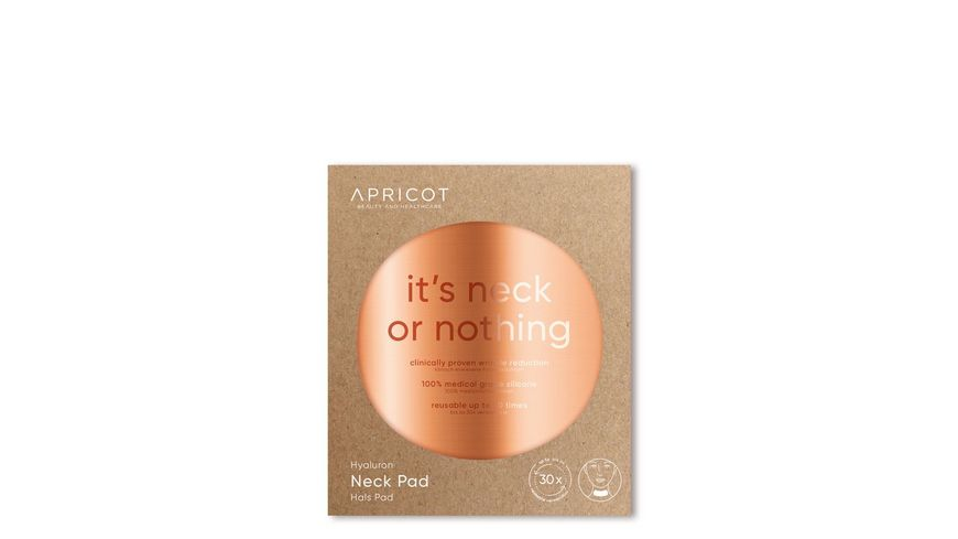 APRICOT BEAUTY AND HEALTHCARE Hyaluron Hals Pad