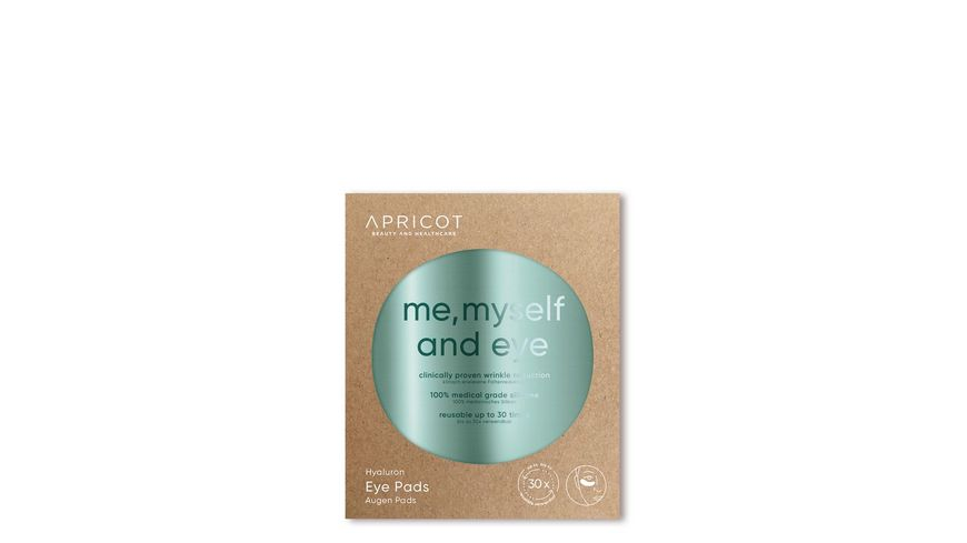 APRICOT BEAUTY AND HEALTHCARE Hyaluron Augen Pads