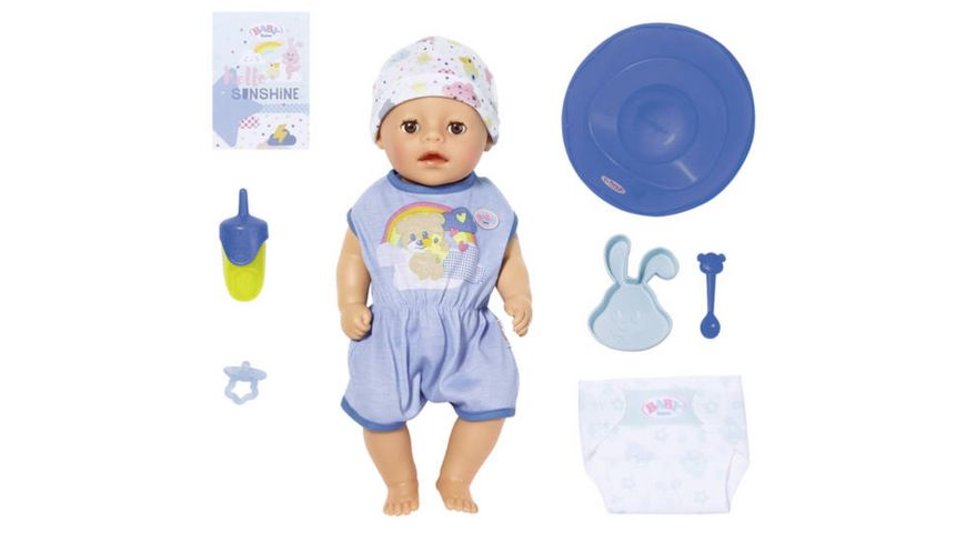 Zapf Creation BABY born Soft Touch Little Boy 36cm